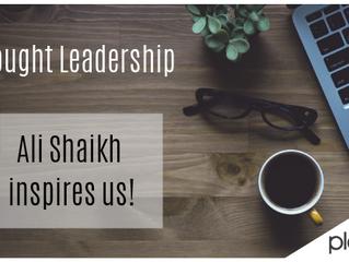 Ali Shaikh Inspires Us!