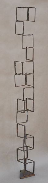 "Squares 4""x52""x4"" found steel"