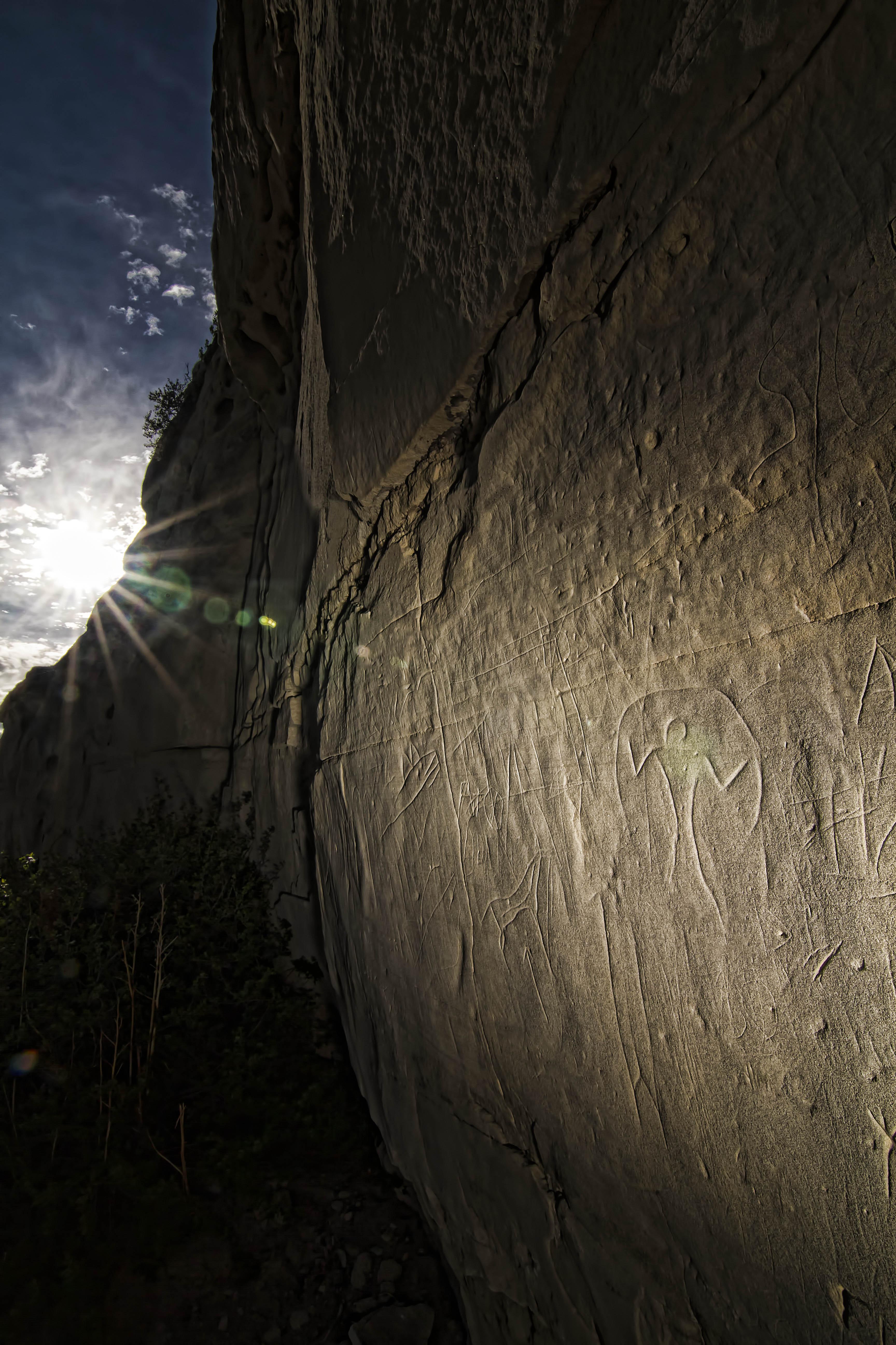 First Nations Petroglyphs 4