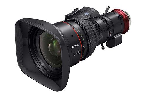 Canon zoom 17 120 T2.95