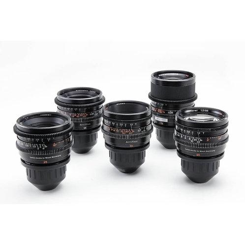 Zeiss Superspeed MKII lens set T1.3