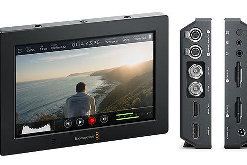7 inch 4K monitor/recorder black magic assist HDMI/SDI in out