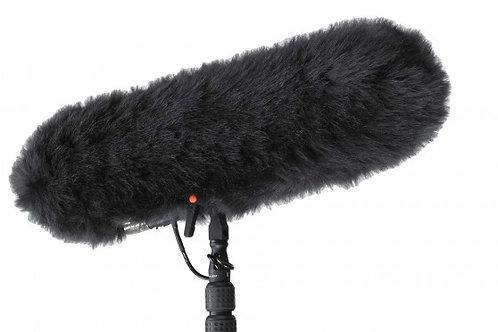 Boompole + mic mkh60 + windjammer