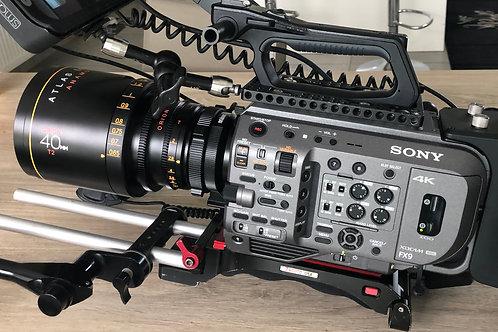 Sony Fx9 + 1 Atlas Anamorph lens