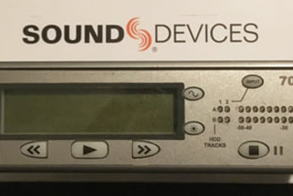 TE KOOP: Sound Devices 702T audio recorder (€650)
