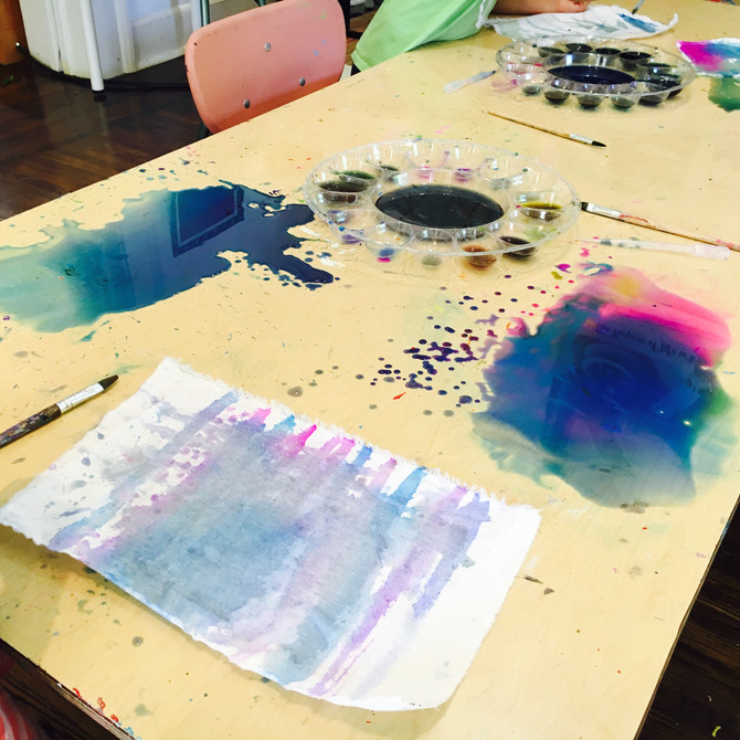 Art Meets Science Camp: Day 1