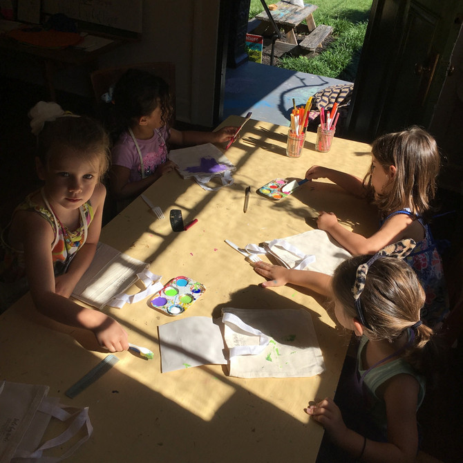 Think BIG Art Camp: Day 1