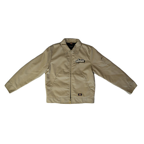 Embroidered Khaki AR Club Dickie Jacket