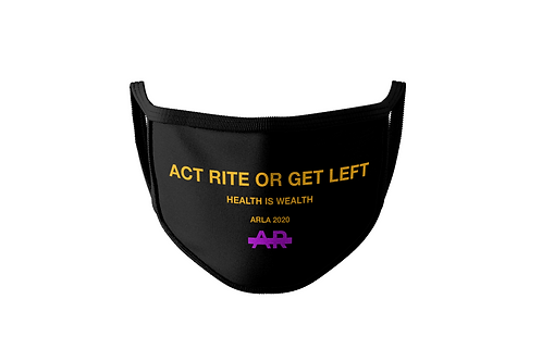 "ACTRITE "" HEALTH IS WEALTH"" MASK"
