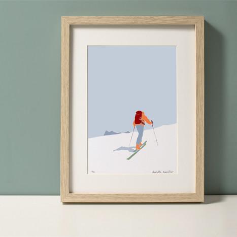 Randonneur ski