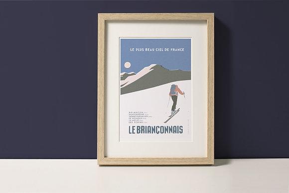 Affiche Le Briançonnais - Ski de Rando
