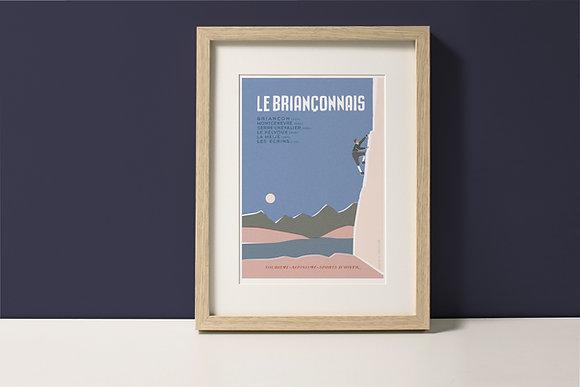 Affiche Le Briançonnais - Alpinisme