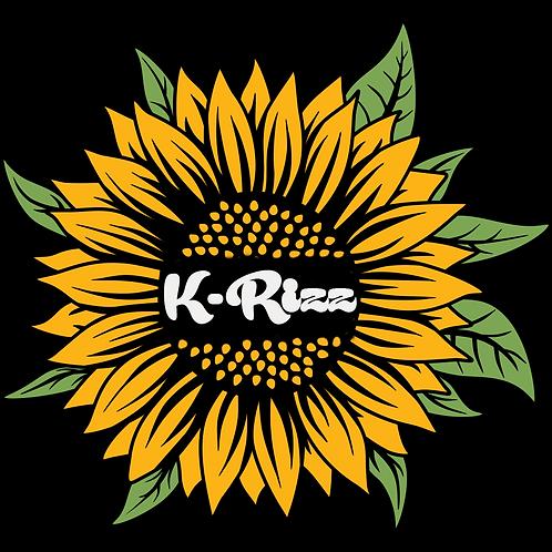Die Cut Sunflower Sticker