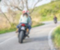 baptéme moto route