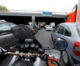 moto conduite inter-file