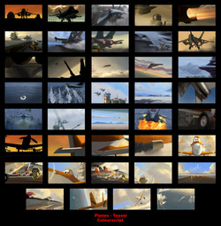 Planes Teaser - ColorScript