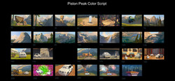 Piston Peak color script