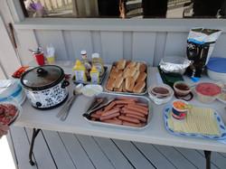 BV Hot Dog Roast