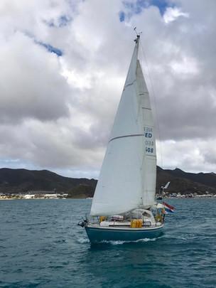 De langste tocht: Lola van St Maarten naar Azoren