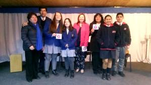 CNTV entregó videoteca para escolares de Catemu