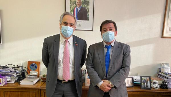 Senador Chahuán gestiona que Dirección de Obras Hidráulicas ejecute más pozos y soluciones hídricas