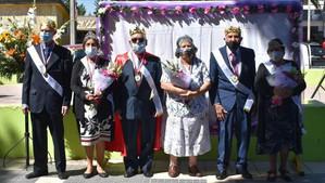 Con éxito se realizó la coronación de reinas y reyes de adultos mayores de Santa María