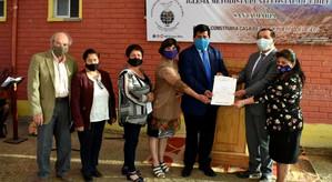 Municipio entrega en comodato terreno a Iglesia Metodista Pentecostal de Chile