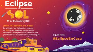 Invitan a observar de manera segura e informada el eclipse solar este 14 de diciembre