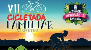 Este sábado se desarrollará la Séptima Cicletada Familiar en Rinconada
