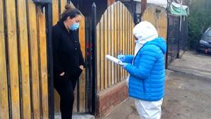 Vecinas y vecinos de Calle Larga destacan la entrega de recargas de gas gratis en todas las casas de