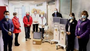 Hospital San Camilo suma seis nuevos ventiladores mecánicos ampliando a 18 las camas críticas
