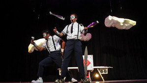 Santa María y Catemu reciben las vacaciones de invierno con nuevo circo