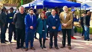 Gran convocatoria tuvo la 7° versión de la Feria Laboral organizada por la OMIL Catemu