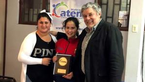 Alcalde realizó reconocimiento a karatecas cateminos por logros en torneo efectuado en Arequipa - Pe