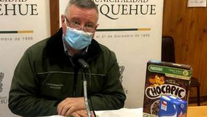Municipio distribuirá productos saludables a niños de Panquehue