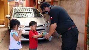 """Bomberos de Calle Larga destacaron la participación de la comunidad en """"Campaña de la Luca"""""""