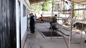 En su etapa final están las obras de construcción de camarines del estadio de Escorial de Panquehue