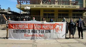 Molestia y tristeza en Putaendo por aprobación unánime  a proyecto de 350 sondajes de Minera Vizcach