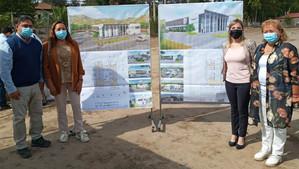 Licitación de nuevo Cesfam cumplió con la visita a terreno de las empresas postulantes