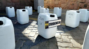 PDI Los Andes incautó 451 kilos de cocaína diluida