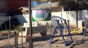 Desde la semana pasada comenzaron a instalarse puntos verdes en Rinconada