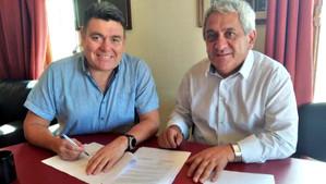 Municipios de Rinconada y Calle Larga firman convenio de colaboración mutua