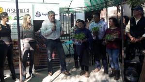 Usuarios de Prodesal Catemu aprendieron a cultivar Huertos Familiares Orgánicos