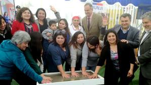 Se inauguraron dos nuevos jardines infantiles en San Felipe y Catemu