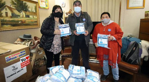 Embajada de Taiwan donó mascarillas a comunas de la V Cordillera
