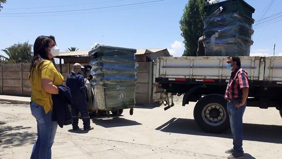 Más de cien contenedores de basura serán instalados en diferentes sectores de Calle Larga
