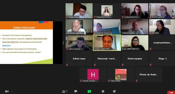 Pro Aconcagua organizó charlas virtuales para promover la reactivación económica en el valle