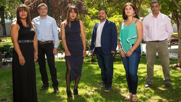 Frente Regionalista Verde Social e independientes presentaron a sus candidatos a concejales