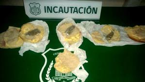En pan amasado intentan ingresar droga a la cárcel de Los Andes