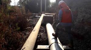Esval pone en marcha nueva red de aguas servidas que beneficia a más de 3.500 hogares de San Esteban